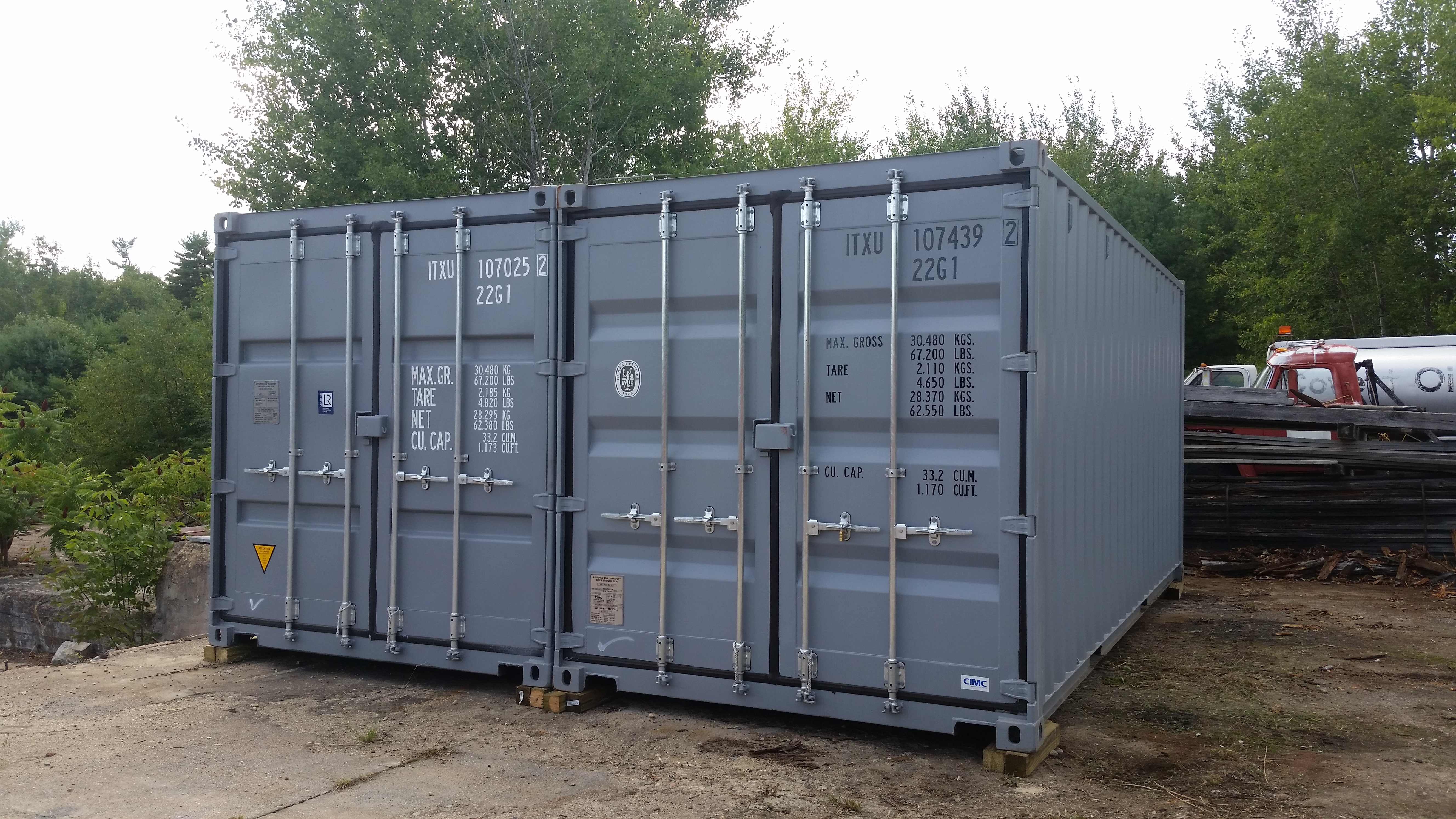 Onsite Storage Container - Grey